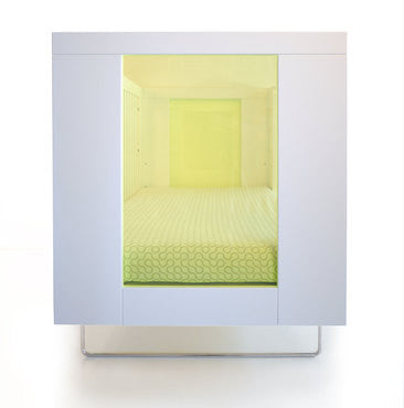 Alto Crib of Spot on Square - Give Wink Miami Baby Store - Green Transparent Acrylic