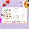 A Butterfly Field Personalized Kids Placemat - Give Wink