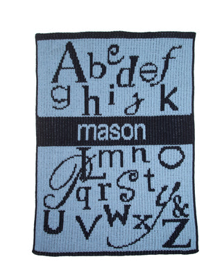 Cashmere Personalized Stroller Blanket - Give Wink
