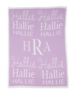 Cashmere Personalized Stroller Blanket
