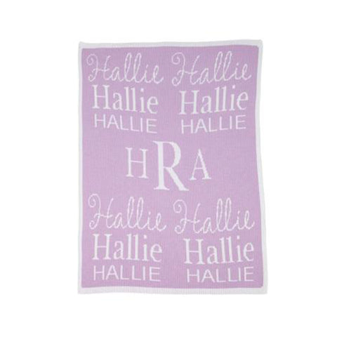 Acrylic Personalized Stroller Blanket