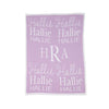 Acrylic Personalized Stroller Blanket - Give Wink