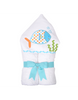 Fish Hooded Towel - 3Marthas - Miami Baby Store - Blue