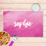 Bold Colorful Name Personalized Kids Placemat - Give Wink