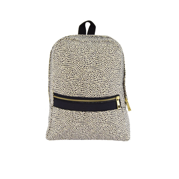 Cheetah Seersucker Large Backpack - Give Wink