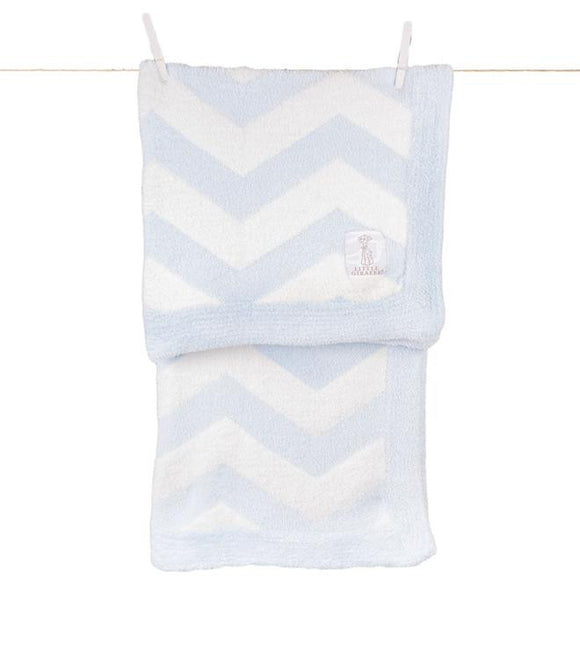 Dolce Chevron Baby Blanket - Give Wink