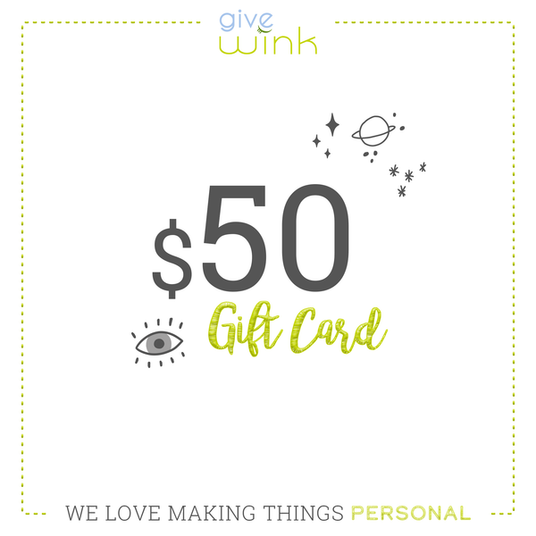 $50 Gift Card - Give Wink