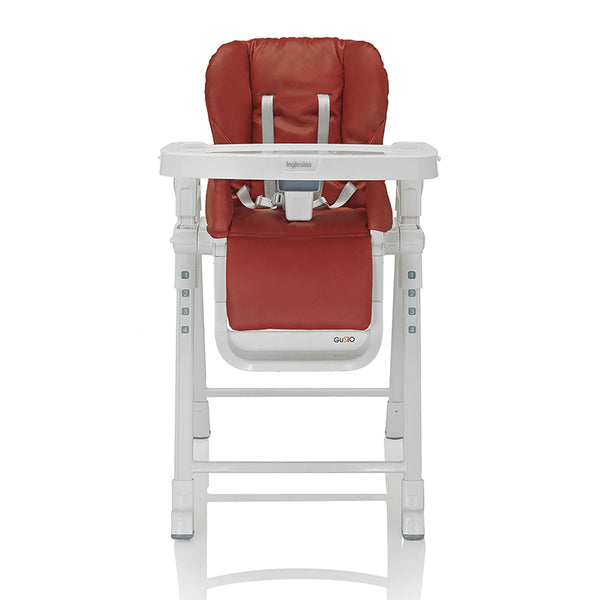 Gusto HighChair - Inglesina - Gear Miami Baby Store - Red