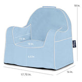 Light Blue Little Reader Chair - Give Wink