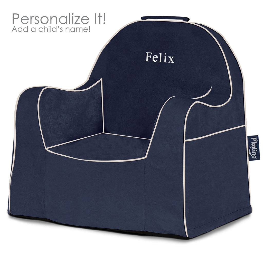 Navy Little Reader Chair - Give Wink
