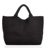 Naghedi St. Barths Large Woven Tote - Give Wink