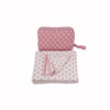 3 Piece Knitted Baby Travel Set - Polka Dots - Give Wink