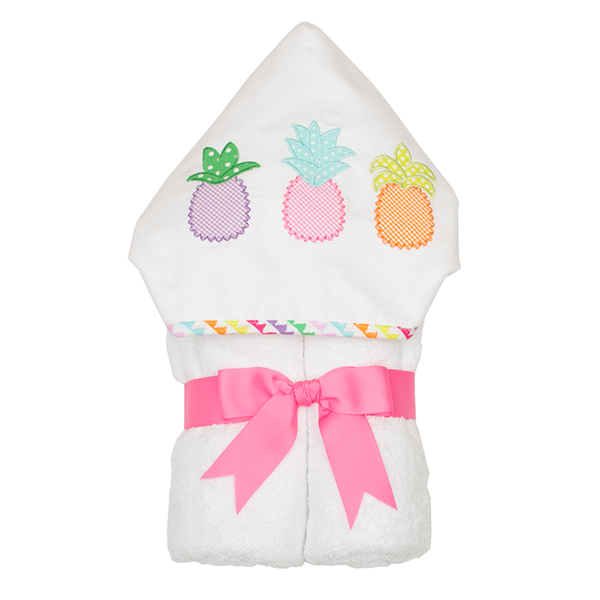 Pineapple Hooded Towel - Give Wink