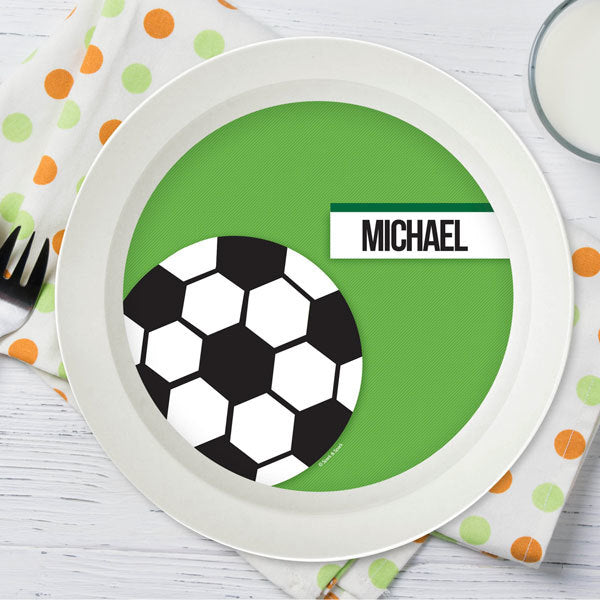Spark and Spark. Soccer Fan Kids Bowl. Miami Baby Store. Green