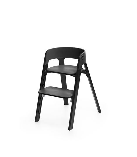 Stokke Steps High Chair. Gear Baby Give Wink Miami Baby Store. Black/Oak Black