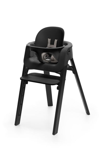Stokke Steps High Chair Baby Set. Baby Accessories, Miami Baby Store. Black