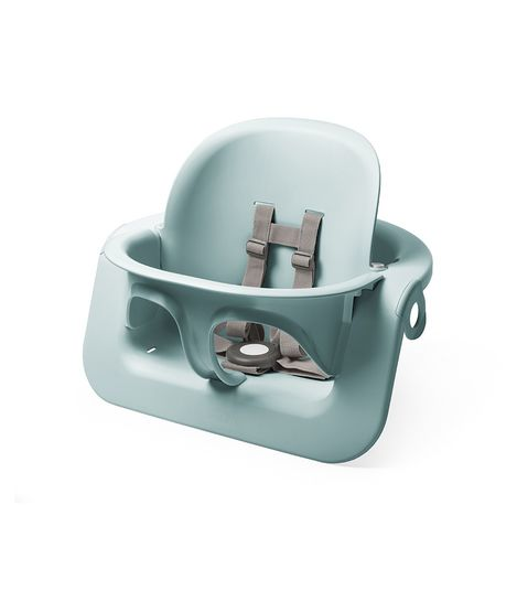 Stokke Steps High Chair Baby Set. Baby Accessories, Miami Baby Store. Aqua Blue