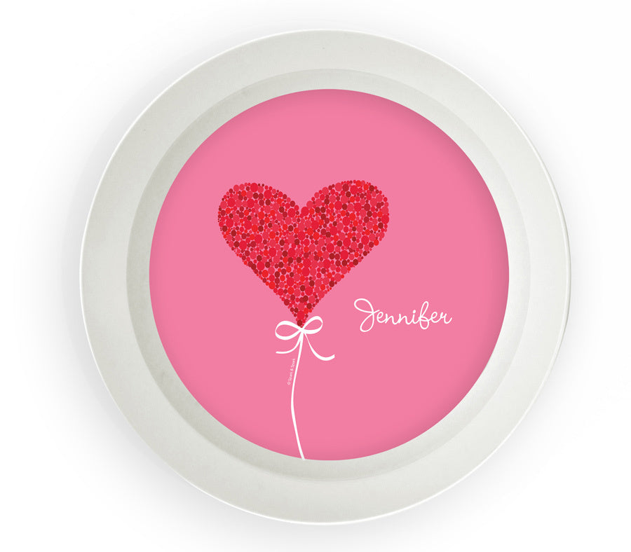 Sweet Heart Personalized Kids Bowl - Give Wink