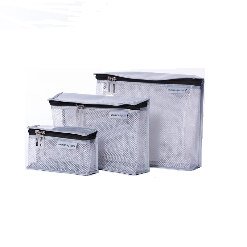 Toiletry Cubes S/3 - Black - Give Wink