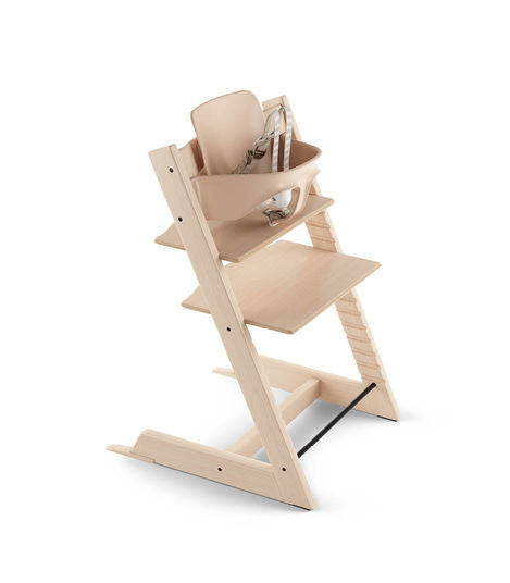 Stokke Tripp Trapp Bundle High Chair. Give Wink Miami Baby Store. Natural