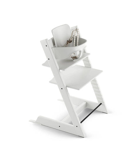 Stokke Tripp Trapp Bundle High Chair. Give Wink Miami Baby Store. White