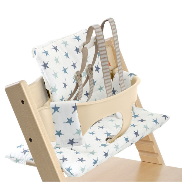 Tripp Trapp Cushion - Stokke High - Give Wink Miami Baby Store - Aqua Star