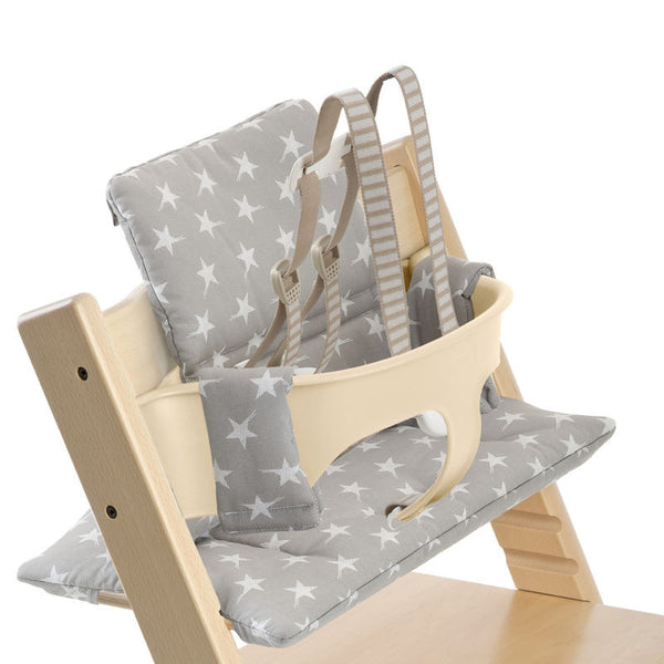 Tripp Trapp Cushion - Stokke High - Give Wink Miami Baby Store - Grey Star
