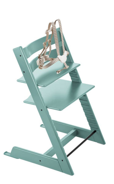 Stokke Tripp Trapp Baby High Chair. Aventura and Miami Baby Store. Aqua Blue