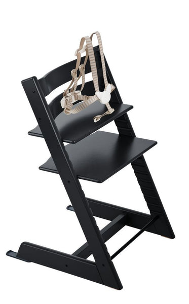 Stokke Tripp Trapp Baby High Chair. Aventura and Miami Baby Store. black