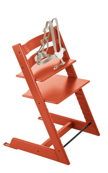 Stokke Tripp Trapp Baby High Chair. Aventura and Miami Baby Store. Orange