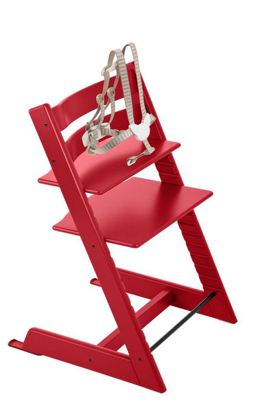 Stokke Tripp Trapp Baby High Chair. Aventura and Miami Baby Store. Red