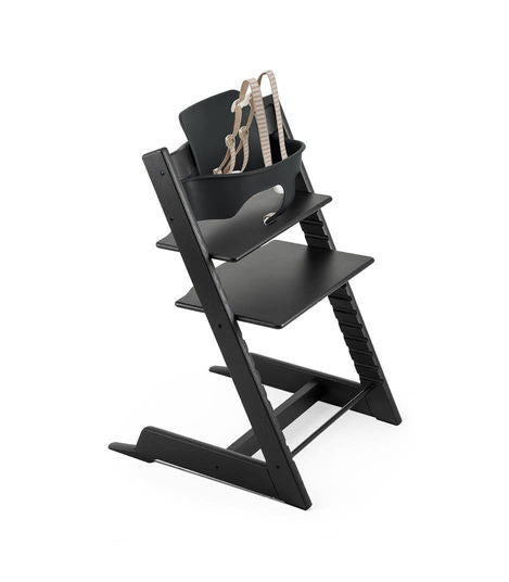 Stokke Tripp Trapp Bundle High Chair. Give Wink Miami Baby Store. Oak Black