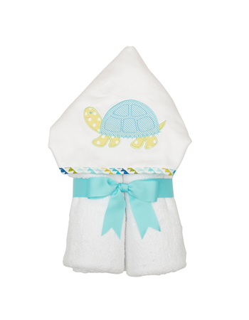 Turtle Hooded Towel