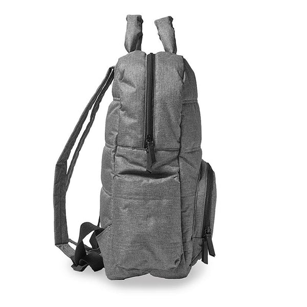 Heather Grey Backpack - Give Wink