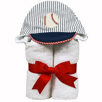 Baseball Hooded Towel - Give Wink