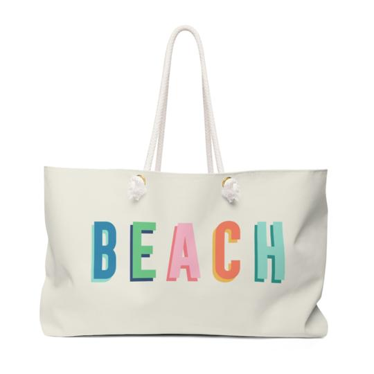 Beach Travel Tote - Give Wink