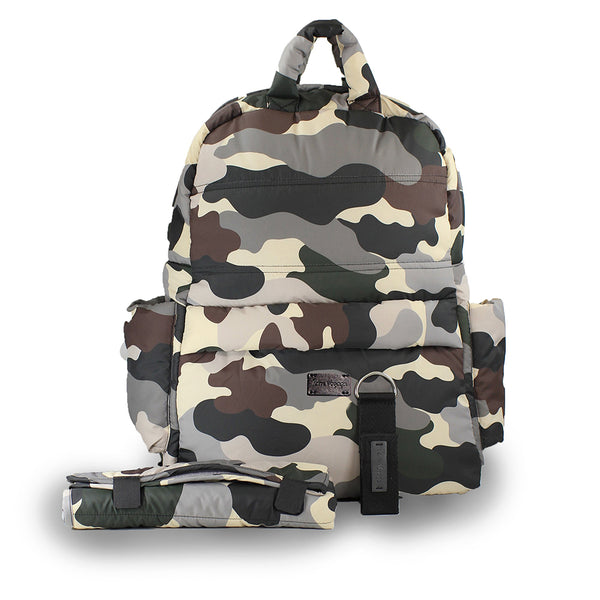 Camo Backpack - Give Wink