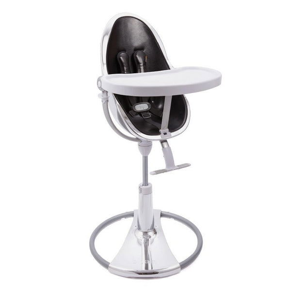 Fresco Chrome - Bloom Baby High Chair Miami Baby Store - Silver / Snakeskin Black