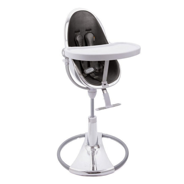 Fresco Chrome - Bloom Baby High Chair Miami Baby Store - Silver / Midnight Black