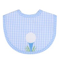Golf Game Applique Bib - Give Wink