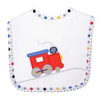 Choo Choo Train Applique Bib
