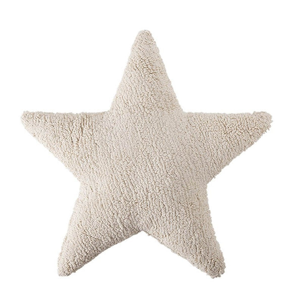 Plush Star Pillow Beige - Lorena Canals - Miami Baby Store - pc1
