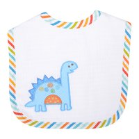Dino Dude Applique Bib - Give Wink