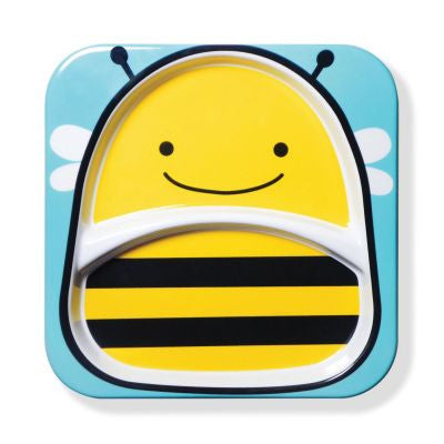 Zoo Divided Plate - Bee