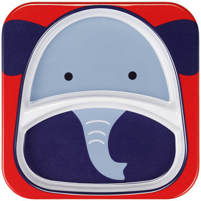 Zoo Divided Plate - Elephant