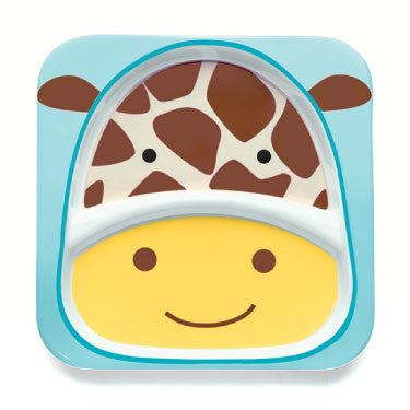 Zoo Divided Plate - Giraffe