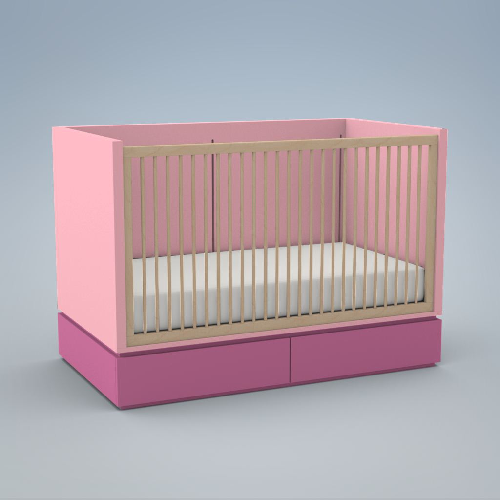 Ducduc Dylan Crib - Give Wink