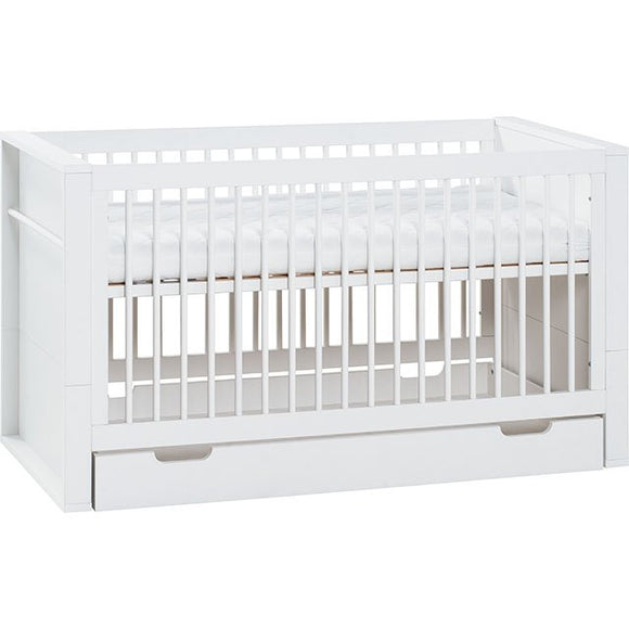 Little Guy Comfort Milk Convertible 3-in-1 Crib/Youth Bed - Give Wink