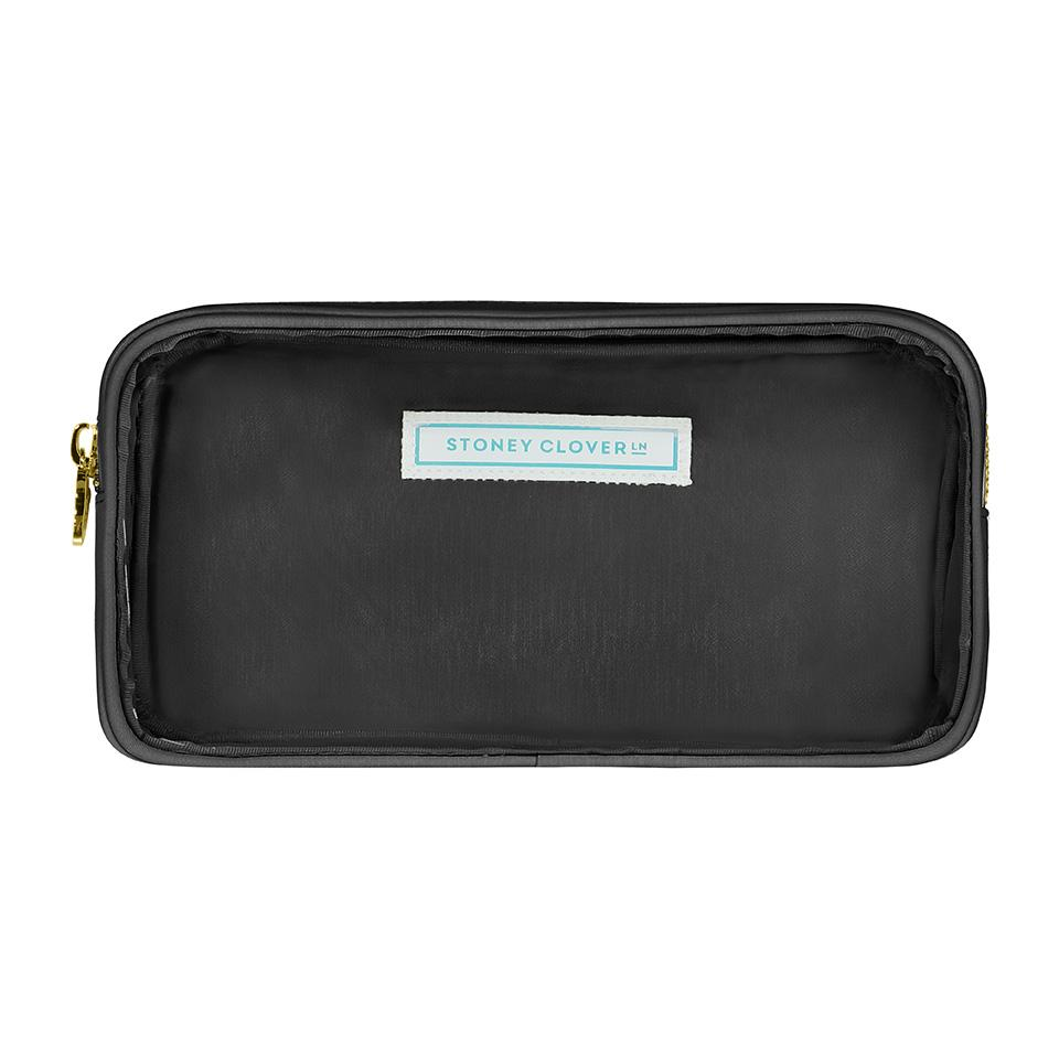Classic Clear Small Pouch - Black - Give Wink