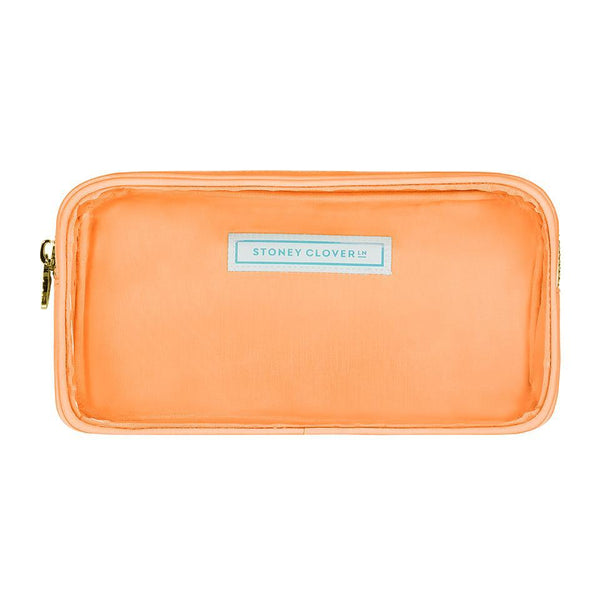 Classic Clear Small Pouch - Peach - Give Wink